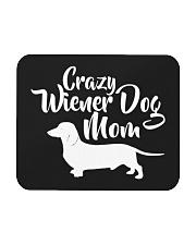 Dachshund Crazy Wiener Dog Mom Mousepad thumbnail