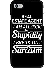 Real Estate Agent Sarcasm Phone Case thumbnail