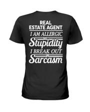 Real Estate Agent Sarcasm Ladies T-Shirt thumbnail