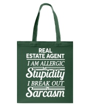 Real Estate Agent Sarcasm Tote Bag thumbnail