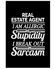 Real Estate Agent Sarcasm 11x17 Poster thumbnail