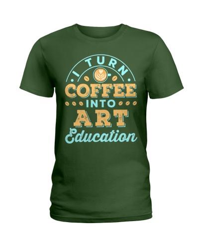 I Turn Coffee Into Art Education