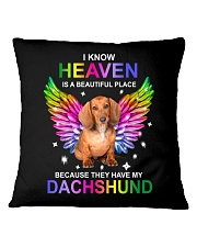 Because They Have My Dachshund Square Pillowcase thumbnail