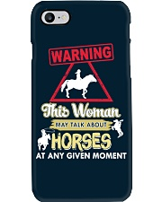 Horse This Woman May Talk About Horses Phone Case thumbnail