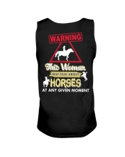 Horse This Woman May Talk About Horses Unisex Tank thumbnail