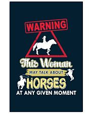 Horse This Woman May Talk About Horses 11x17 Poster thumbnail