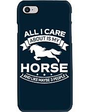 Horse All I Care About Horses Phone Case thumbnail