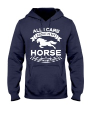 Horse All I Care About Horses Hooded Sweatshirt thumbnail