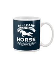Horse All I Care About Horses Mug thumbnail