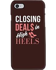 Realtor - Closing Deals In High Heels Phone Case thumbnail