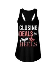 Realtor - Closing Deals In High Heels Ladies Flowy Tank thumbnail
