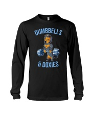 Dumbbells And Doxies Long Sleeve Tee thumbnail