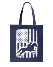 Horse Flag America Tote Bag thumbnail