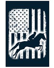 Horse Flag America 11x17 Poster thumbnail