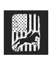 Horse Flag America Square Coaster thumbnail