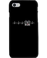 Realtor Heartbeat Shirt Phone Case thumbnail