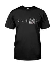 Realtor Heartbeat Shirt Classic T-Shirt thumbnail