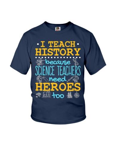 I Teach History
