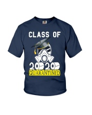 Senior Class of 2020 Quarantined Graduation Youth T-Shirt thumbnail