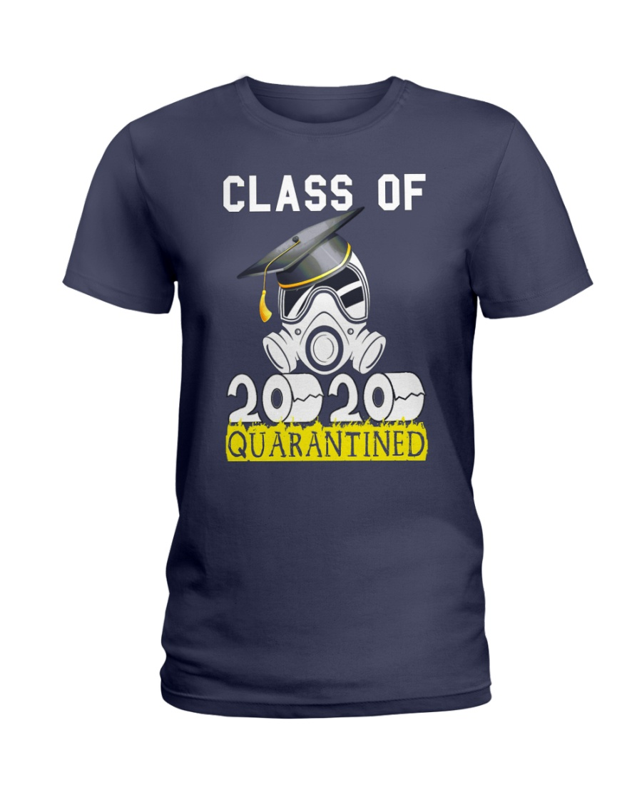 Senior Class of 2020 Quarantined Graduation Ladies T-Shirt