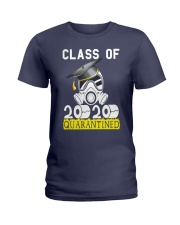 Senior Class of 2020 Quarantined Graduation Ladies T-Shirt front