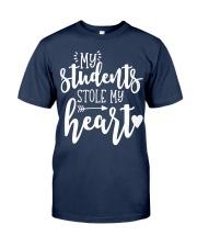 Cute Teacher My Students Stole My Heart Classic T-Shirt thumbnail