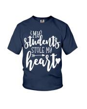Cute Teacher My Students Stole My Heart Youth T-Shirt thumbnail