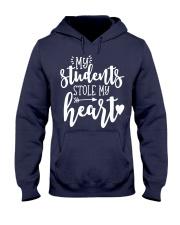 Cute Teacher My Students Stole My Heart Hooded Sweatshirt thumbnail