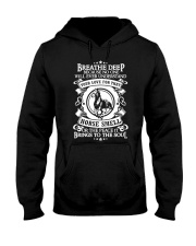 Funny Horse Shirt - Breathe Deep Horses Smell Hooded Sweatshirt thumbnail