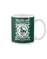 Funny Horse Shirt - Breathe Deep Horses Smell Mug thumbnail