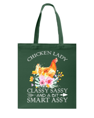 Chicken Lady Classy Sassy Flowers