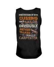 Never Talked To A Carpenter Unisex Tank thumbnail