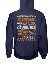 Never Talked To A Carpenter Hooded Sweatshirt thumbnail