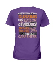 Never Talked To A Carpenter Ladies T-Shirt thumbnail