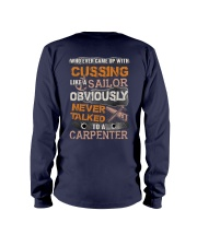 Never Talked To A Carpenter Long Sleeve Tee thumbnail