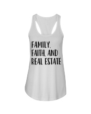 Realtor Realtor Family Faith And Real Estate Ladies Flowy Tank tile