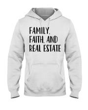 Realtor Realtor Family Faith And Real Estate Hooded Sweatshirt thumbnail