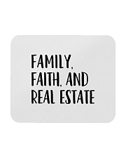Realtor Realtor Family Faith And Real Estate Mousepad thumbnail