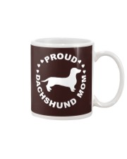 Funny Dog Shirt - Proud Dachshund Mom Mug thumbnail