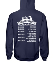 Carpenter Hourly Rate Hooded Sweatshirt thumbnail