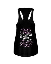 Funny Realtor - It's A Real Estate Agent Thing Ladies Flowy Tank thumbnail