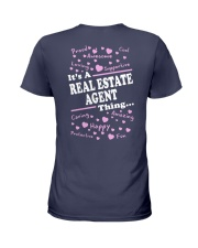 Funny Realtor - It's A Real Estate Agent Thing Ladies T-Shirt back