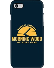 Morning Wood Sawdust Company Phone Case thumbnail