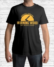 Morning Wood Sawdust Company Classic T-Shirt lifestyle-mens-crewneck-front-1