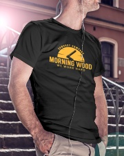 Morning Wood Sawdust Company Classic T-Shirt lifestyle-mens-crewneck-front-5