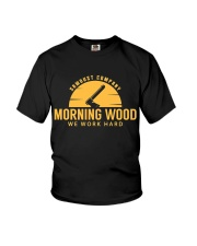 Morning Wood Sawdust Company Youth T-Shirt tile