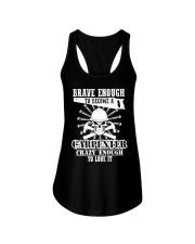 Brave Enough To Become A Carpenter Ladies Flowy Tank thumbnail