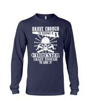 Brave Enough To Become A Carpenter Long Sleeve Tee thumbnail
