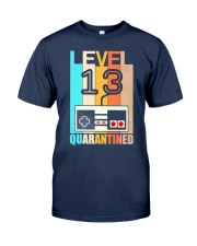 Level 13 Quarantined 13rd Birthday Gamer Classic T-Shirt thumbnail