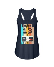Level 13 Quarantined 13rd Birthday Gamer Ladies Flowy Tank tile